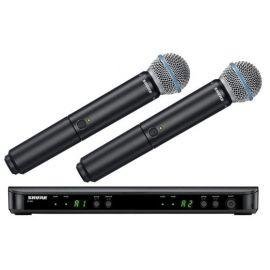 Mikrofony bezprzewodowe doręczne, wokalowe