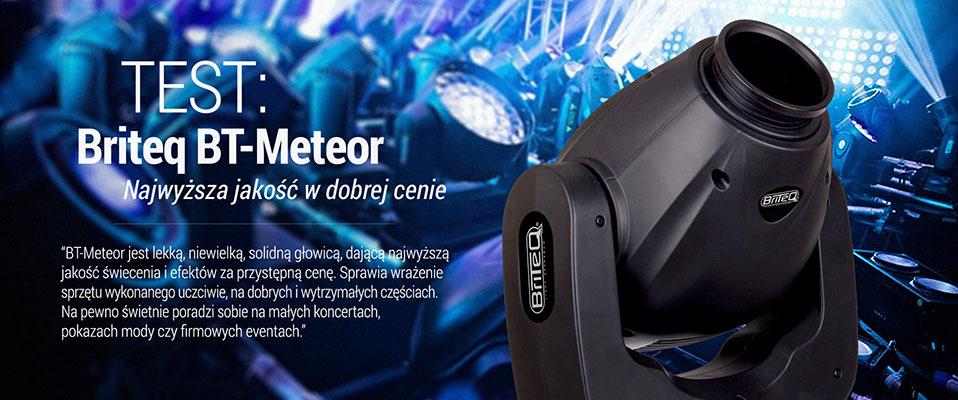 Zobacz test Briteq Meteor